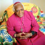 Desmond Tutu, Friedensnobelpreisträger 1984, Schirmheer der Forgiveness Ausstellung